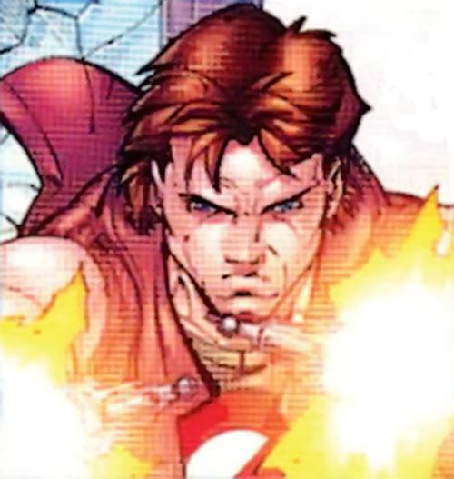 Pretty Boy of the Reavers (X-Men enemy) (Marvel Comics) closeup