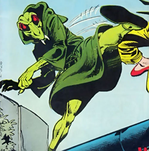 Preying Mantis (Richard Dragon enemy) (DC Comics)