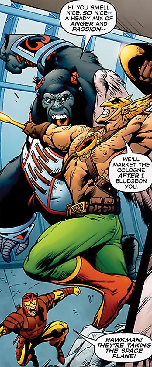 Primat of the Dreambound (DC Comics trinity) vs. Hawkman