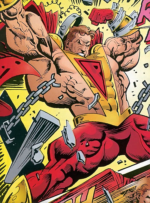 Prime (Ultraverse Malibu Comics) breaking his chains