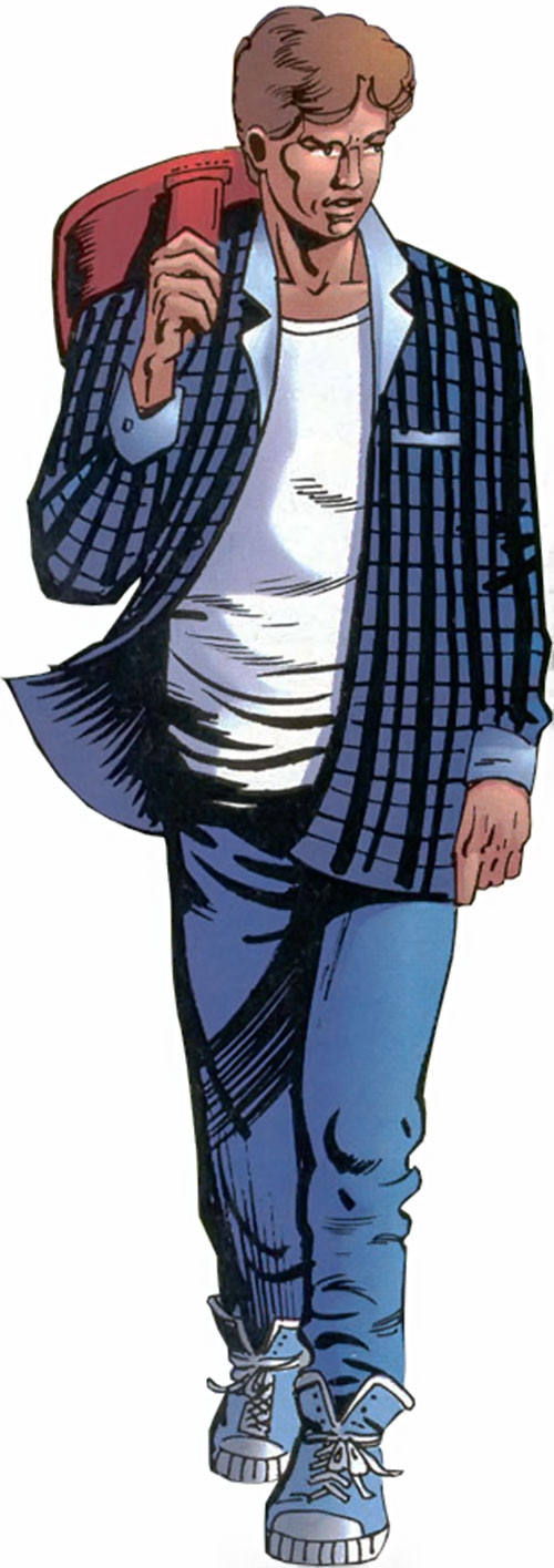 Prime (Ultraverse Malibu Comics) Kevin with blue flannel shirt