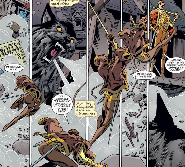 Prince Brandish vs. Bigby Wolf