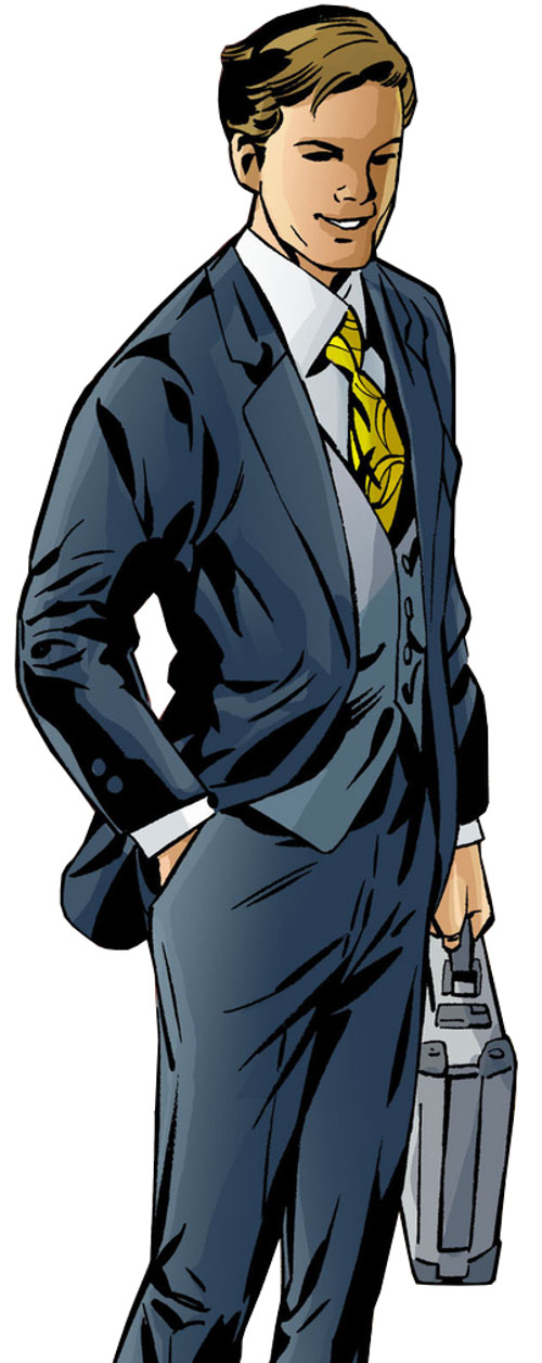 Prince Brandish Descry (Fables comics) blue business suit