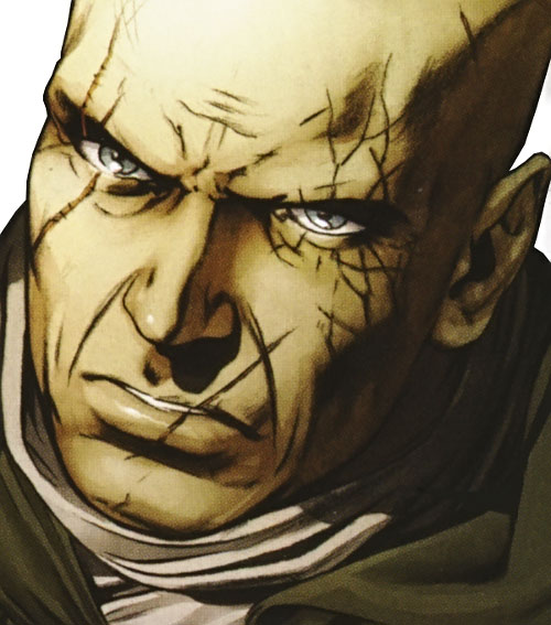 Prince of Orphans (Iron Fist character) (Marvel Comics) (John Aman) face closeup