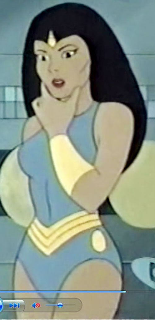 Princess Ariel (Thundarr the Barbarian) pondering