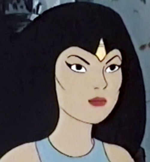 Princess Ariel (Thundarr the Barbarian) face closeup