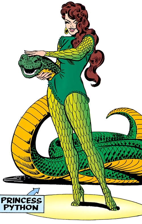 Princess Python (Marvel Comics) (Circus of Crime) by Steve Ditko