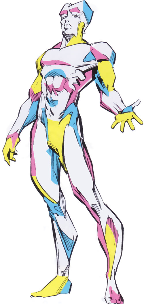 Prism of the Marauders (X-Men enemy) (Marvel Comics) from the handbook