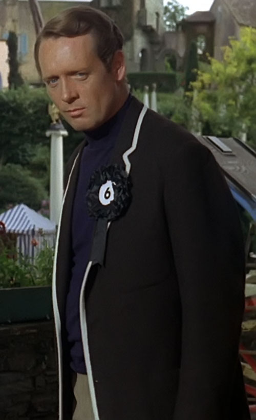 Number Six (Patrick McGoohan in The Prisoner)