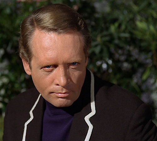 Number Six (Patrick McGoohan in The Prisoner) portrait