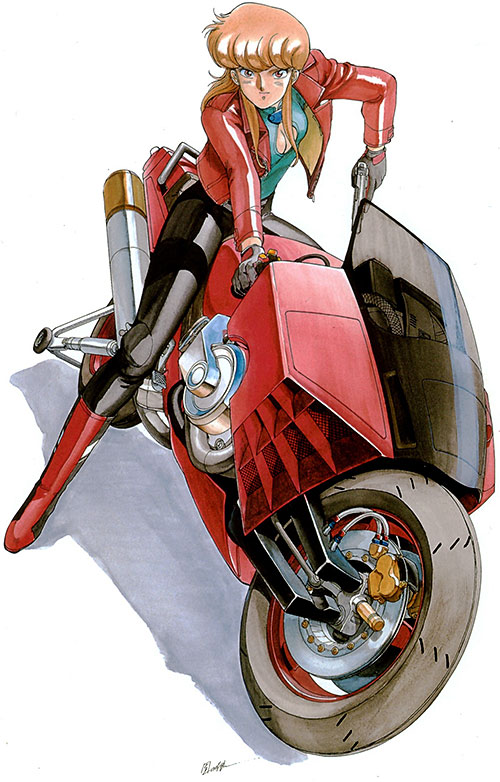 Priss Asagari of the Knights Sabre (Bubblegum Crisis)