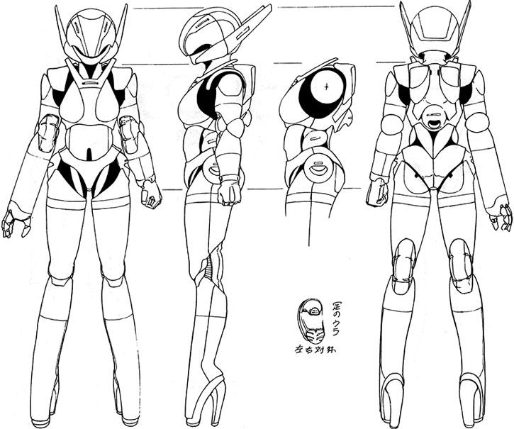 Priss' hardsuit schematics