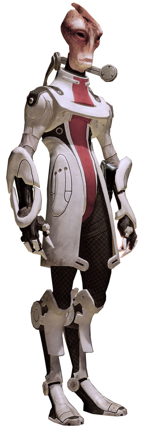 Professor Mordin Solus (Mass Effect) high resolution model