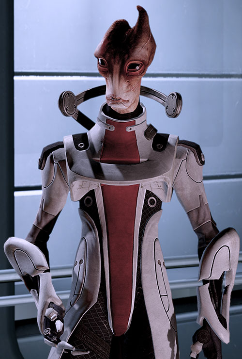 Professor Mordin Solus (Mass Effect) on the Normandy