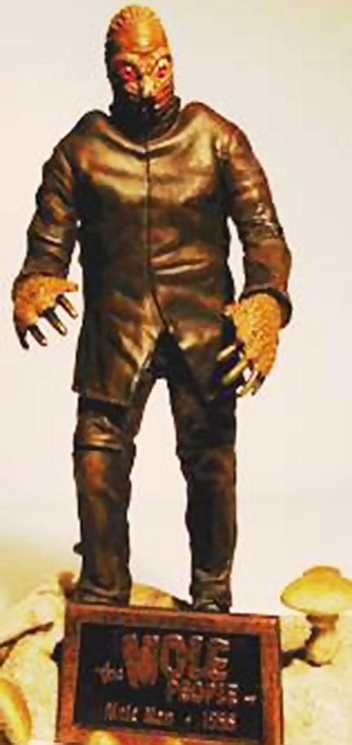 Mole People monster statuette