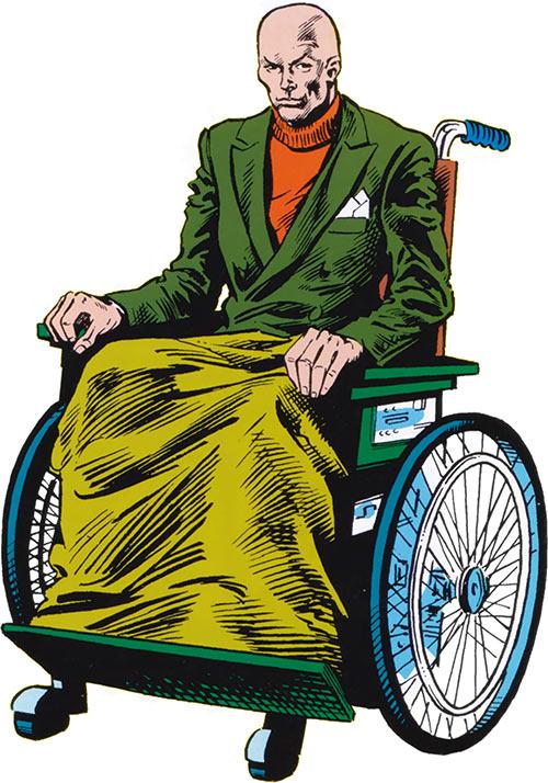Professor X of the X-Men (Marvel Comics 1983 handbook)
