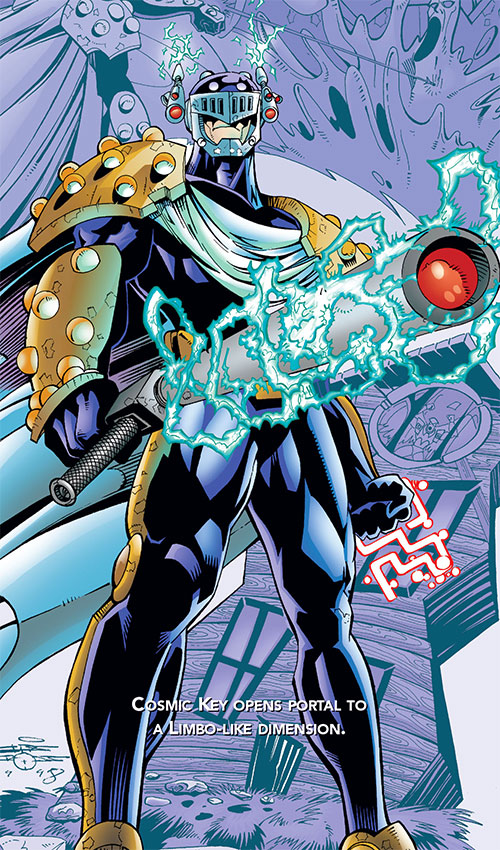 Prometheus (DC Comics) (JLA enemy) with his key and nightstick