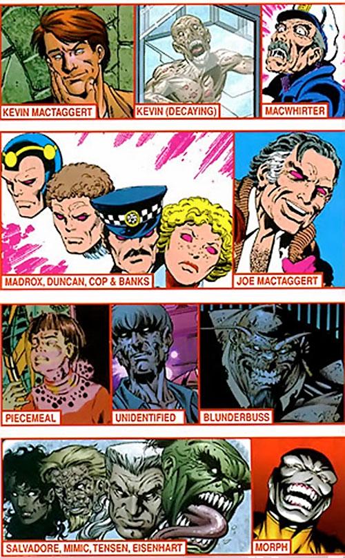 Proteus (X-Men and Exiles enemy) (Marvel Comics) bodies victims