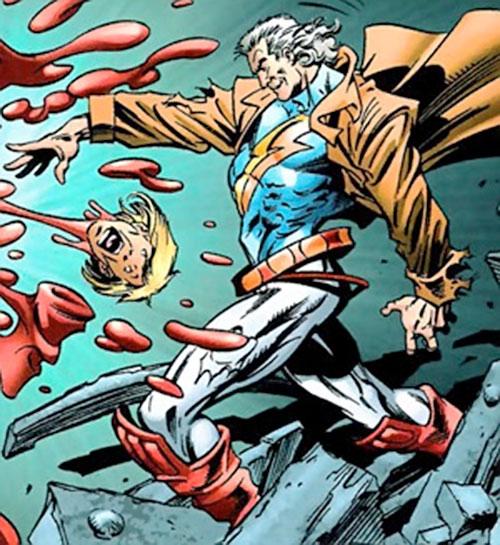 Proteus (Exiles enemy) (Marvel Comics) as Justice (Tensen)
