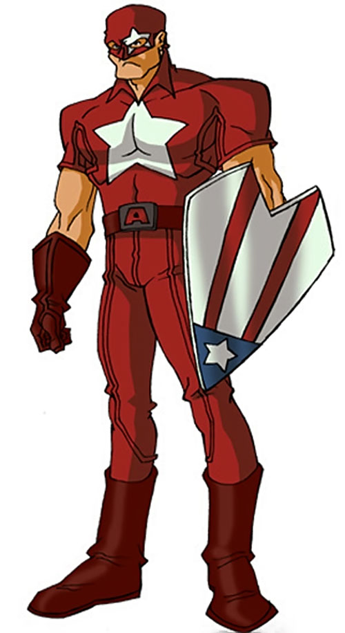 Protocide (Captain America enemy) (Marvel Comics) by RonnieThunderbolts
