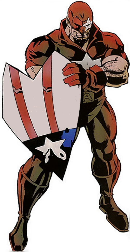 Protocide (Captain America enemy) (Marvel Comics)
