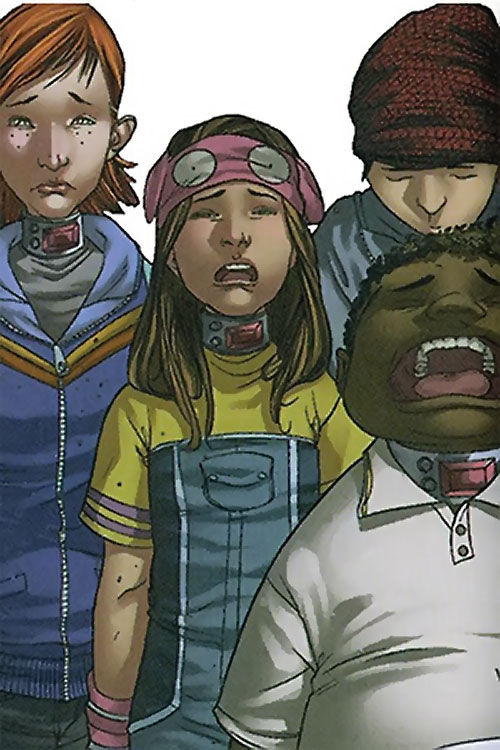Molly and the Artful Dodgers (Runaways Marvel Comics)