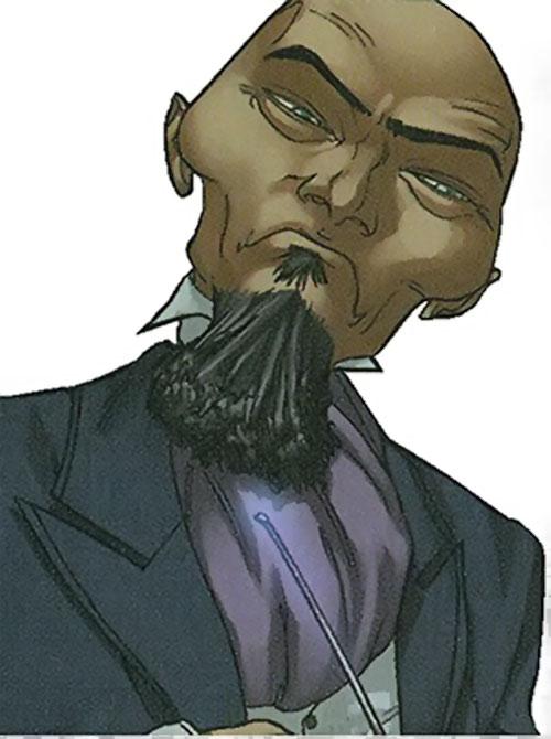 Provost (Runaways enemy) (Marvel Comics)