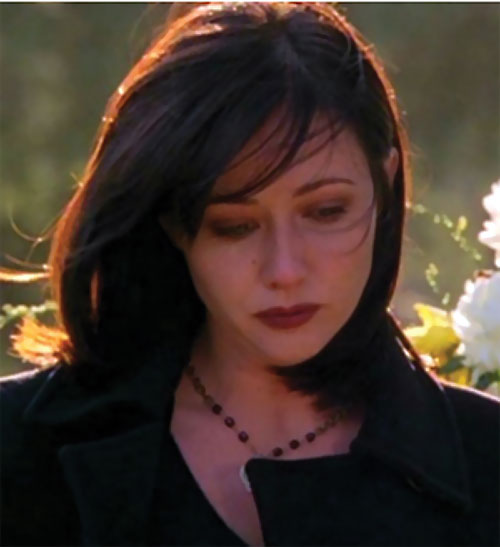 Prue Halliwell (Shannen Doherty in Charmed) sad face