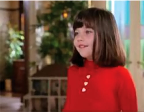 Prue Halliwell (Charmed) as a little girl