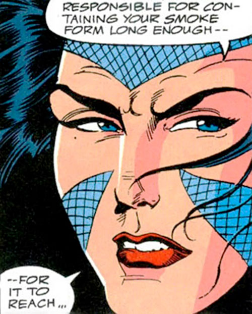 Psi-Borg of SHIELD (Marvel Comics) face closeup