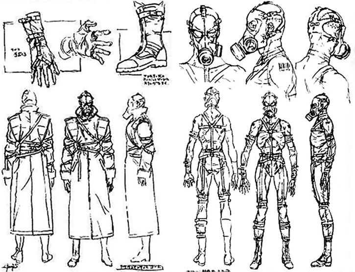 Psycho-Mantis model design sheet