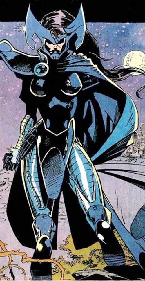 Psylocke of the X-Men (1990s Marvel Comics) as Lady Mandarin
