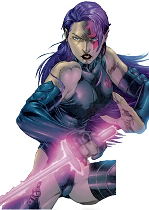 Psylocke of the X-Men and Exiles (Marvel Comics)