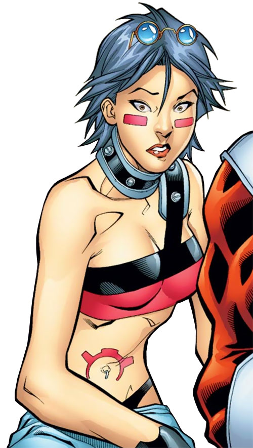 Puck of Alpha Flight (Zuzha Yu) (Marvel Comics) aghast