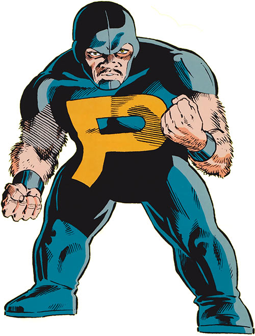 Puck (Alpha Flight) (Marvel Comics) (Eugene Judd) from the gamer's handbook