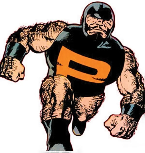 Puck (Alpha Flight) (Marvel Comics) (Eugene Judd) advancing