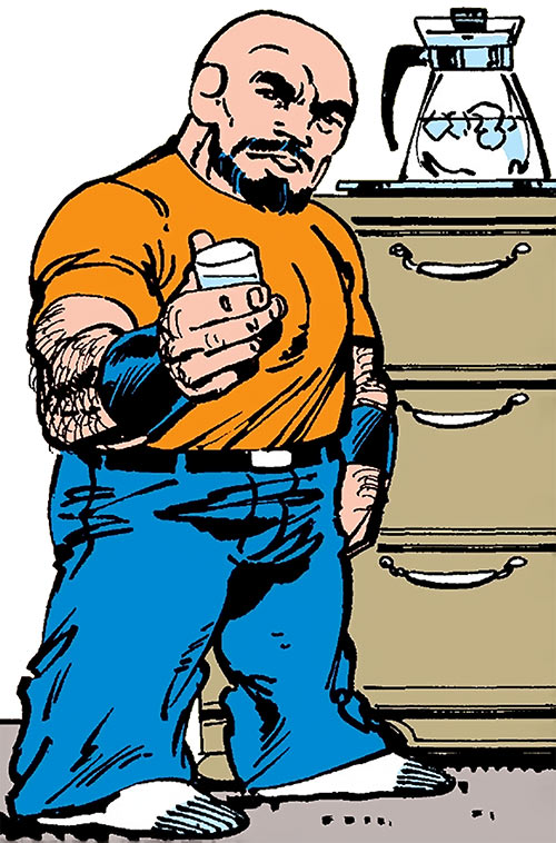 Puck (Alpha Flight) (Marvel Comics) (Eugene Judd) drinking water