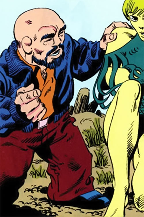 Puck (Alpha Flight) (Marvel Comics) (Eugene Judd) and Marrina