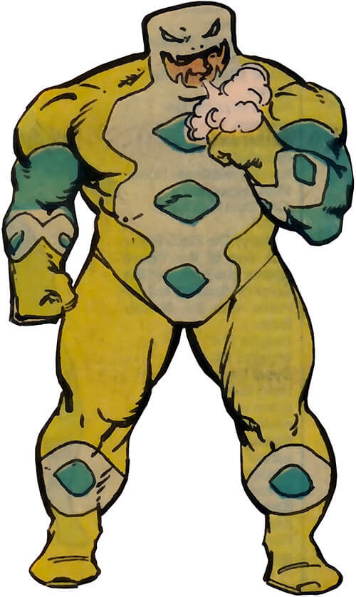 Puff Adder of the Serpent Society (Marvel Comics)