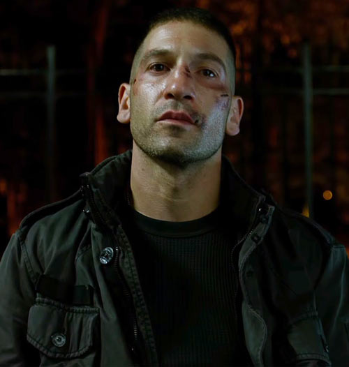Punisher (Jon Bernthal in Netflix's Daredevil season #2) portrait