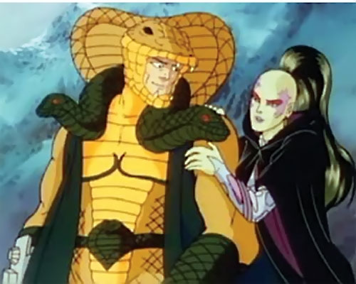 Pythona (1987 G.I. Joe cartoon movie) and Serpentor