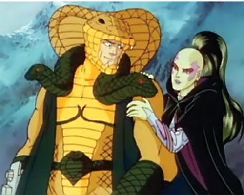 Pythona (1987 G.I. Joe cartoon movie) and Serpentor