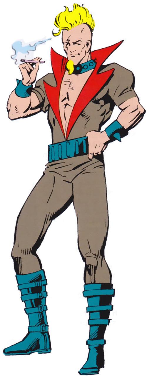 Quagmire (Marvel Comics) (Squadron Supreme) from the 1985 official handbook