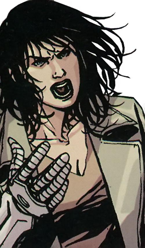 Quake (Daisy Johnson) (Marvel Comics) with long hair