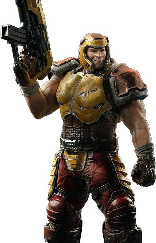 Ranger from Quake (Quake Champions promo art)