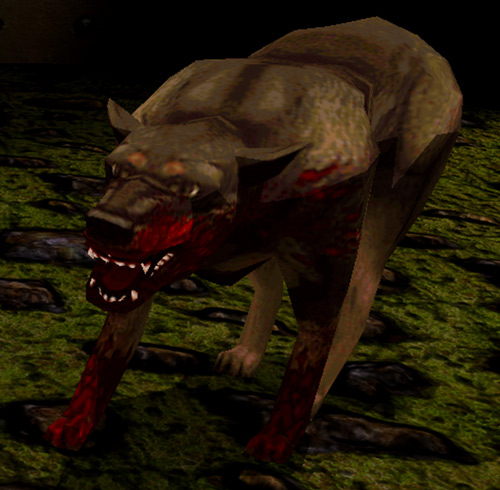 Quake Rottweiler (Dark Places)