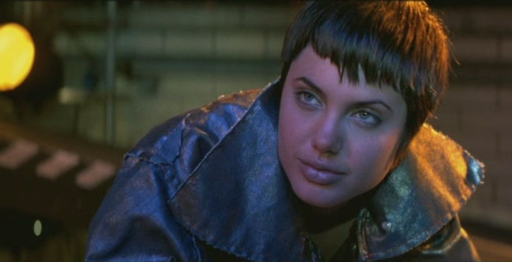 Angelina Jolie in the movie Hackers was the model for Quake (Daisy Johnson)