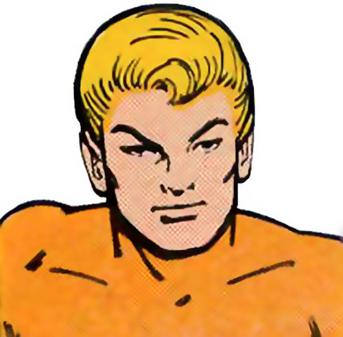 Quanto of the Taurus Gang (Legion of Super-Heroes enemy) (DC Comics) face closeup
