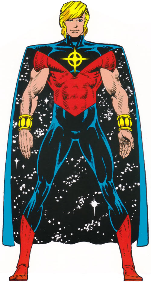 Quasar (Marvel Comics) (Vaughn) (Classic) - 1990s look and long hairdo