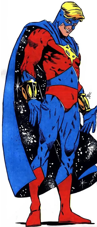 Quasar (Marvel Comics) (Vaughn) (Classic) - 1990s costume